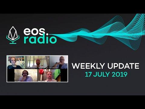 EOS Radio Weekly – 17 July 2019 – Europechain – A specialized GDPR blockchain using EOSIO