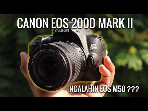 MASIH ANGET !!! REVIEW CANON EOS 200D MARK II