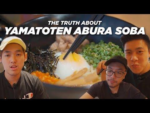 PERNAH PUNYA PENGALAMAN BURUK, REVIEW JUJUR ABURA SOBA YAMATOTEN NEO SOHO!! – FOR FOOD SAKE Eps. 14