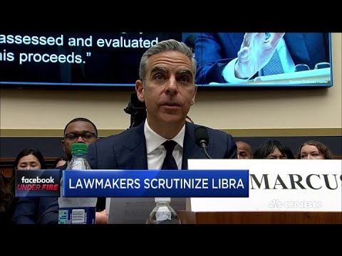 Facebook faces grilling in House committee hearing on Libra cryptocurrency