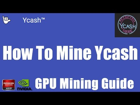 How To Mine Ycash | A Friendly GPU Focused Zcash Fork.