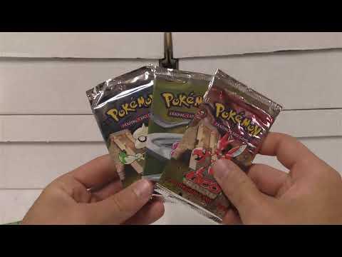 Opening a Pokemon SOUTHERN ISLANDS Box + Neo Packs!