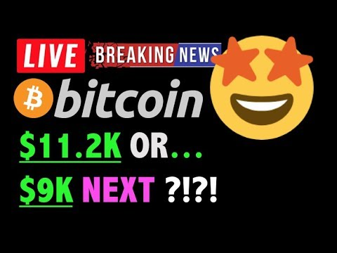 Bitcoin $11.2K or $9K NEXT?! 🛑 – LIVE Crypto Trading Analysis & BTC Cryptocurrency Price News 2019