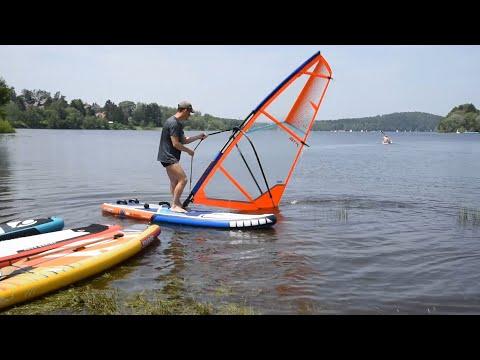 [4SUP.CZ] STX WS 280 FREERIDE nafukovací windsurfing