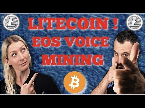 LITECOIN SPIKES! / EOS VOICE / ETHEREUM UPDATE / PROFITABLE MINING?