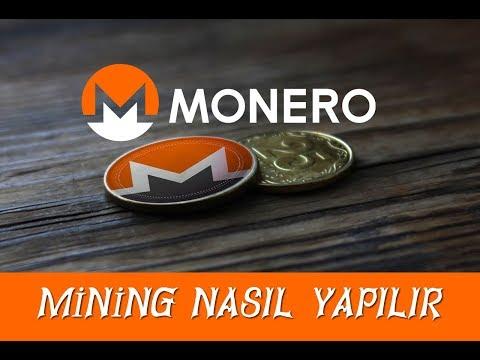 Monero Mining Nasıl Yapılır   Sesli Anlatım 2019 Yılı