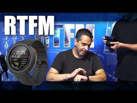 RTFM#64 – AMAZFIT Verge – Το νέο μου καθημερινό ρολόι