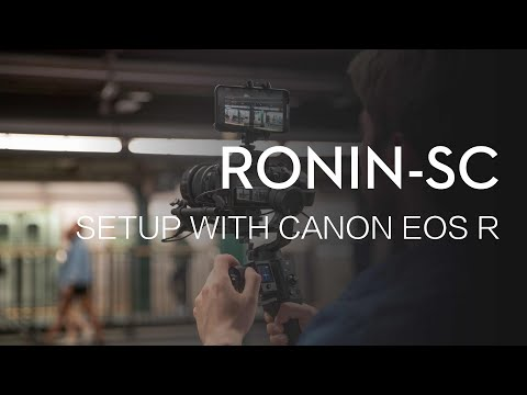 How to Set Up Ronin-SC with CANON EOS R Camera
