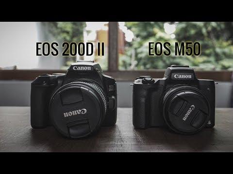 GAUSAH BINGUNG!!!  PILIH EOS M50 VS 200D MARK II