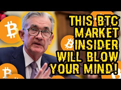 He Says BITCOIN Is GOING UP, BUT WHY? This MARKET INSIDER Will BLOW Your MIND, Prove BTC To $50K!