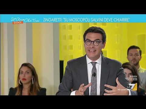 Russiagate Lega, Nicola Zingaretti: 'Fa piacere che sia la Casellati che Fico hanno convenuto …