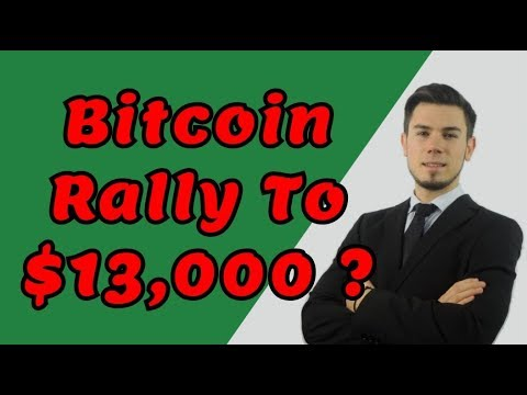 Bitcoin Rally To $13,000 ? – LIVE Crypto Trading Analysis & BTC Cryptocurrency Price News
