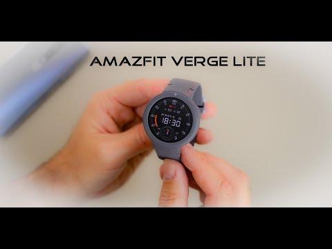 Amazfit Verge Lite  – günstige Smartwatch | die ersten Schritte