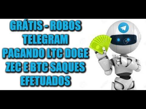 GRÁTIS – ROBOS TELEGRAM PAGANDO LTC DOGE ZEC E BTC SAQUES EFETUADOS