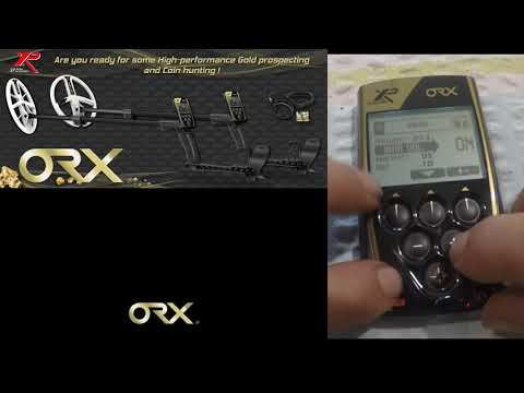 XP ORX remote control walk through and explanation Coin Functions and Tones.