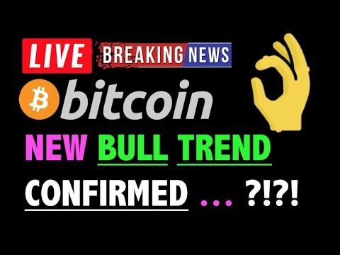 Bitcoin NEW BULL TREND CONFIRMED?! 🛑 – LIVE Crypto Trading Analysis & BTC Cryptocurrency Price News