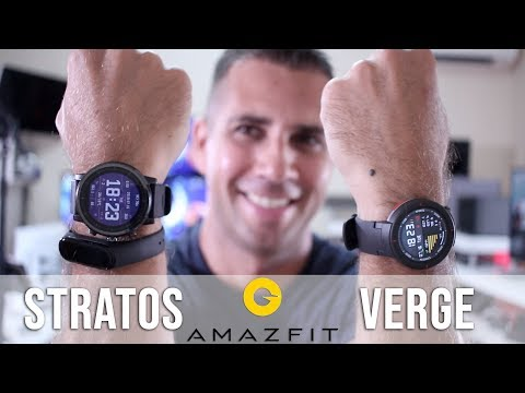 Amazfit Stratos vs Amazfit Verge COMPARISON