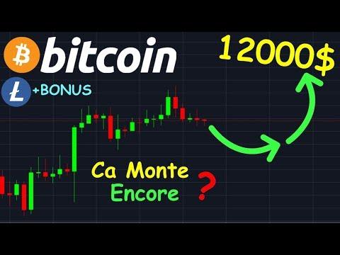 BITCOIN 12000$ EN APPROCHE !? btc analyse technique crypto monnaie