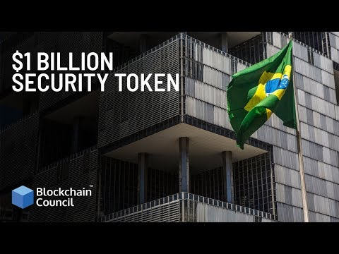 $1 Billion Security Token | Blockchain Council