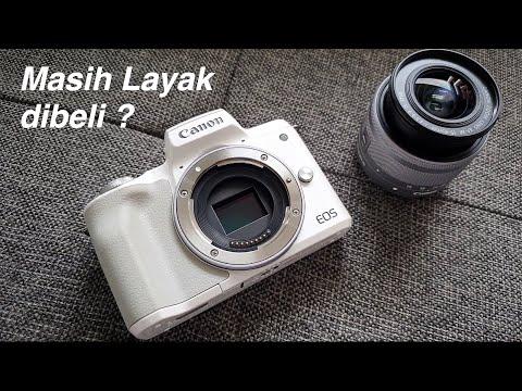 Canon Eos M50 Sekarang Murah! Warna Putih Lucu Juga