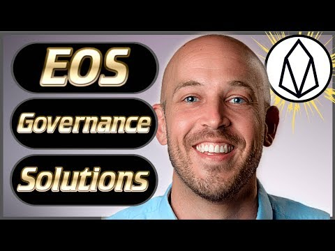 EOS News Weekly #30 – Governance Solutions! – Block.one Updates – New Projects, Dapps & More!