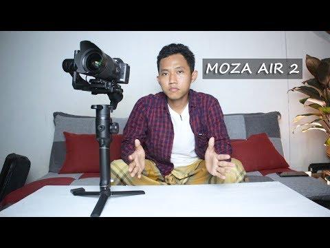Gimbal untuk Kamera DSLR / Mirrorless ~ Unboxing Moza Air 2 ~ Canon EOS M50 C200 1Dx Sony A7S A7R XT