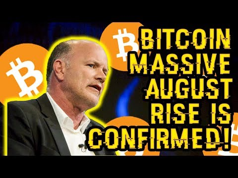 MIKE NOVOGRATZ SAID WHAT? HE DESTROYS BITCOIN BEARS, Confirmed MASSIVE BTC Rise Will COME In AUGUST!