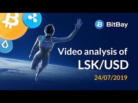 Lisk Price Technical Analysis LSK/USD 24/07/2019 – BitBay