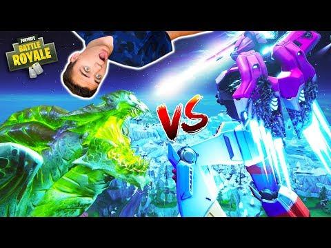 MONSTRE vs ROBOT : LE GRAND COMBAT !!! – FORTNITE BATTLE ROYALE – Néo The One