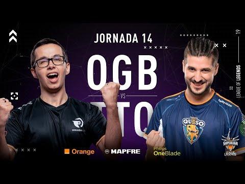 ORIGEN BCN VS TELEPIZZA TEAM QUESO | Superliga Orange League of Legends | Jornada 14 | 2019