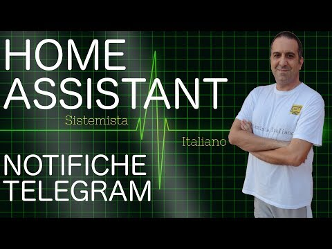 [IoT] – Notifiche Telegram su Home Assistant