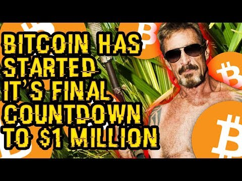 """""""BITCOIN Has STARTED Its FINAL COUNTDOWN To $1 MILLION, Expect FLAMING FIRE"""" – McAfee's EVERYDAY TIP"""