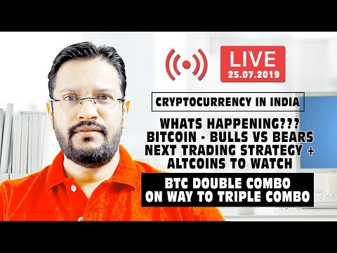Cryptocurrency in India – What's Happening? BITCOIN – BULLS VS BEARS NEXT TRADING STRATEGY + ALTCOIN