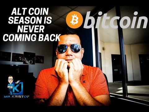 ALTCOINS WILL NEVER SEE THEIR PREVIOUS ALL TIME HIGHS! Bitcoin is Americas TRUSTED CRYPTOCURRENCY!