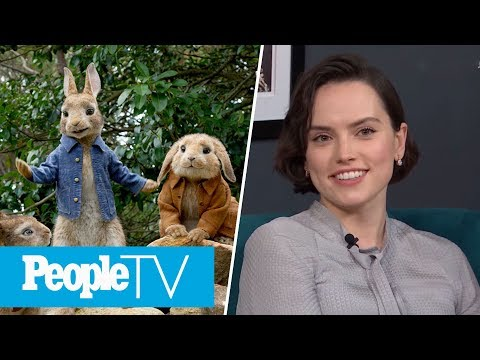 Daisy Ridley Almost Got To FaceTime Her Peter Rabbit Co-Star, Sia | PeopleTV | Entertainment Weekly
