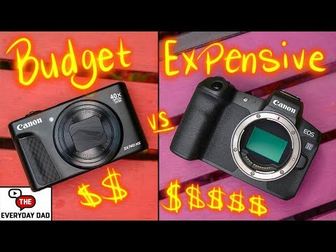 Expensive Camera VS Budget Camera | Whats the Difference?  EOS R vs SX740