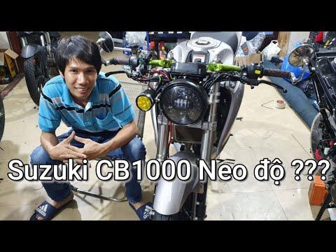 Suzuki CB1000 Neo Cafe độ ???? Kỹ Sư Hẻm