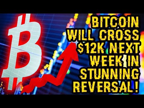 BITCOIN Will CROSS $12K NEXT WEEK In STUNNING REVERSAL – Why You MUST Get Your HANDS On BITCOIN SOON