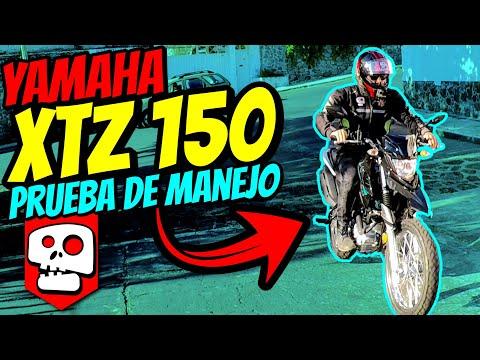 Nueva Yamaha XTZ 150 Prueba de manejo | aLets Go!