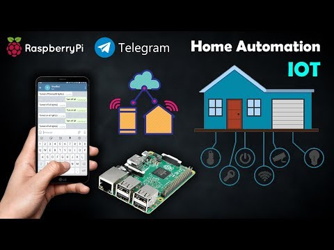 Home Automation using Telegram Application | IOT