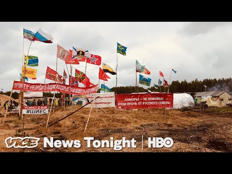 Russia Trash Protests & Facebook Cryptocurrency: VICE News Tonight Full Episode