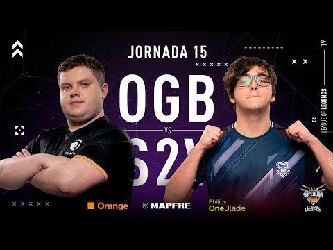 ORIGEN BCN VS S2V ESPORTS | Superliga Orange League of Legends | Jornada 15 | 2019