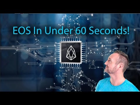 #EOS In Under 60 Seconds!