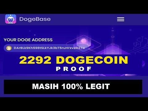 MANTAP! WITHDRAW 2.297 DOGECOIN DARI DOGEBASE
