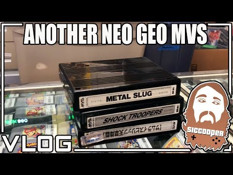 GETTING ANOTHER NEO GEO MVS ARCADE FOR THE STORE! | SicCooper