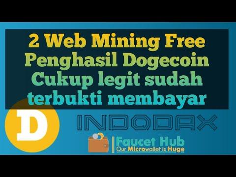 2 Web Mining Doge panghasil dogecoin yang cukup legit.