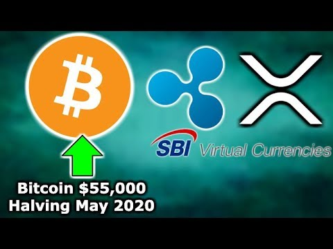 BITCOIN $55K MAY 2020 – Blockchain.com Exchange – SBI Holdings 25 Banks XRP – CurrencyBird RippleNet