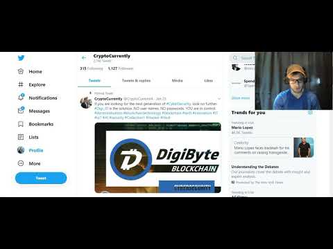 DigiByte – My New Webcam! – Updates on Upcoming Videos