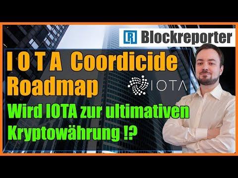 IOTA Coordicide Roadmap 2019 | Blockreporter deutsch kryptowährung