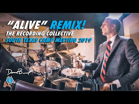Alive Drum Cover (REMIX!) // The Recording Collective // STX Camp Meeting 2019